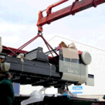 The delivery of Amada F1 Co2 laser cutting machine
