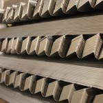Large production of stainless steel parts