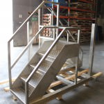 Stainless steel fabricated assembly
