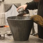 Mild steel cone fabrication