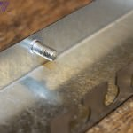Laser cut Galvanised casing with studs